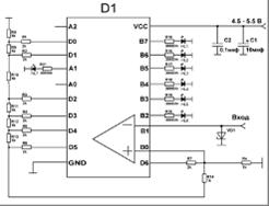 Схема ацп с описанием